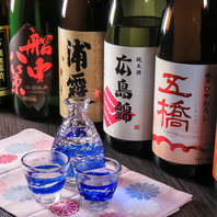 こだわりの日本酒を多数ご用意しております!