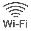 携帯電話はsoftbank、NTT docomo、au各キャリア問題なくご利用いただけます。さらに!無料Wi-Fをi設置しておりますので、ご利用希望のお客様はスタッフまでお気軽にお問合せ下さい。