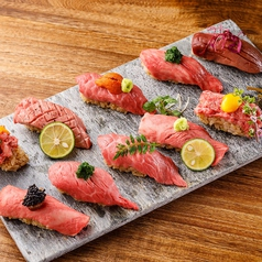 名物 寿司10種盛り