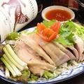 料理メニュー写真酔っ払い鶏(ガイ・チェー・ラオ)