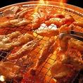 赤から名物鶏セセリ。プリップリのお肉は希少部位(首)です。