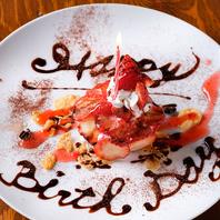 『誕生日・記念日デザートプレート』をサービスします!