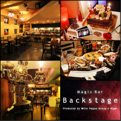 Magic Bar Backstage バックステージの写真