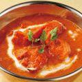 料理メニュー写真■北インド風 マイルドバターチキンカリー