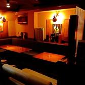 【テーブル席】人気のソファタイプのボックス席。ご予約をお勧め致します!総席数45席完備!着座最大45名様まで、立食スタイルなら最大55名様までOK!25名様以上で貸切も対応可能です!お客様のシーン・人数に合わせ、ご案内いたします!お席詳細・人数・ご予算など、お気軽にお問い合わせください!※写真は一例です