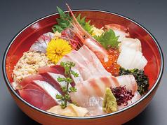 浜んご丼(漬物、小鉢、みそ汁付)