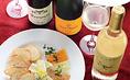 お客様のお好みに合わせ、一品一品のお料理に合ったワインをご提案させて頂きいます!