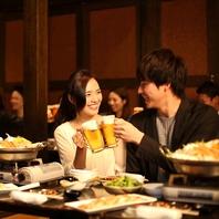 鶴橋駅の宴会はゆったり落ち着ける和の個室空間居酒屋!