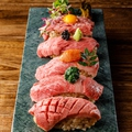 料理メニュー写真名物 寿司5種盛り