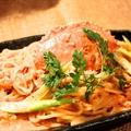料理メニュー写真渡りガニのトマトクリームソース