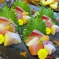 料理メニュー写真[鮮] お刺身三種盛り