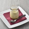 珈琲豆から作るコーヒー牛乳プリン。あまさ控えめで大人の味です!