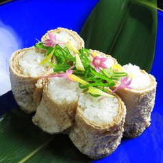 花菜のいなり寿司