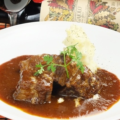 神戸牛の赤ワイン煮込み