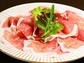 料理メニュー写真イタリア・サンダニエーレ産生ハム 8枚