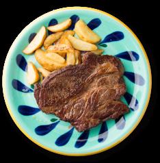 がっつりステーキ(なんと300g)