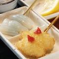 料理メニュー写真<魚>イカの梅肉添え
