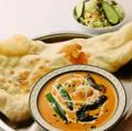 料理メニュー写真季節の野菜カレーセット