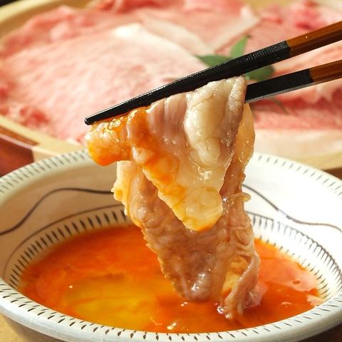 厳選吉備牛・広島牛しゃぶしゃぶなどの他、肉料理を気軽に楽しめる肉居酒屋