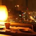 西向きのお席は大阪湾まで一望できます☆食べ飲み放題は2480円から、ご宴会コースは3280円から豊富にご用意。最高のロケーションで最高のひと時をお過ごしください♪【梅田/和食/居酒屋/夜景/宴会/個室/大人数/女子会/記念日/誕生日/デート/チーズタッカルビ】
