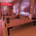 6名様×2席 3名様×1席  の合計3つのテーブル!最大で11名!和の雰囲気で落ち着いた空間でラーメンを食べるのも有!お子様や家族連れはこちらに是非お座りください!学生さんやサラリーマンの方も大歓迎!