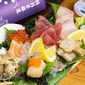 料理メニュー写真お刺身アメリカ盛り7種