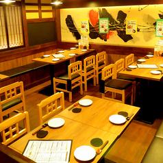 最大50名様まで対応可能!大人数での宴会も大歓迎です!当店自慢の焼き鳥など旬の食材を使用した飲み放題付宴会コースは3000円~ご用意!日本酒や焼酎も含まれている飲み放題の時間も2時間~3時間がございます。歓迎会や送別会など各種宴会に是非ご利用ください。