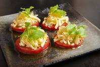 【女子会 宴会 お食事に!】トマトチーズ焼き!