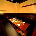 秘密の別邸個室!カジュアル洋モダン♪ 2~40名まで。妖艶な雰囲がモチーフの個室空間を完備。