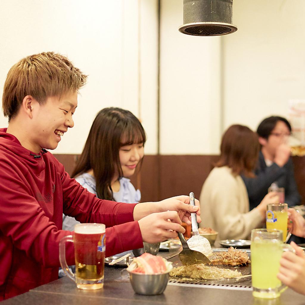 【GotoEat東京お食事券使えます】キジー もんじゃ・お好み焼き 高田馬場|店舗イメージ8