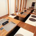 お料理50000円(税別)より貸切可能!少人数利用も、仲間同士で気兼ねなくお食事を楽しみたい方も大歓迎!