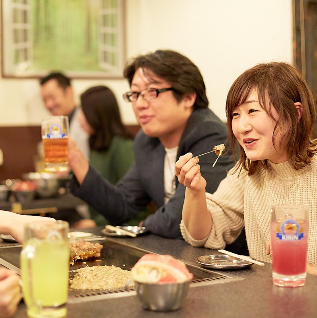 【GotoEat東京お食事券使えます】キジー もんじゃ・お好み焼き 高田馬場|店舗イメージ9