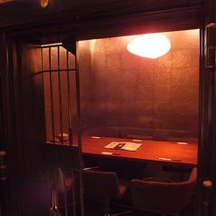 1組限定!古い金庫を改装した個室です
