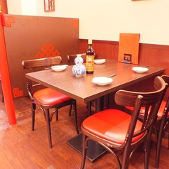 【4名テーブル】女子会ママ会にもオススメ♪美味しいお料理に会話も弾みます◆