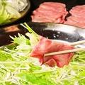 料理メニュー写真【大浦ミート】 和牛タンしゃぶ鍋セット (1セット=お肉1kg:約4~5人前)