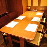 49席とこじんまりした隠れ家の中に人気の半個室があります。早めのご予約がおすすめ!