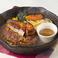 料理メニュー写真フォアグラのせハンバーグ