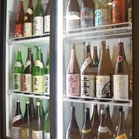 お好きな銘柄を冷蔵庫から選び好きなだけ注ぐスタイル♪