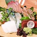 ★毎日仕入れる築地直送の新鮮鮮魚★鮮度抜群の新鮮なお刺身をご賞味下さい☆