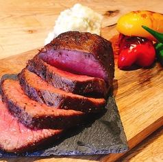 料理メニュー写真極上しあわせ絆牛ステーキ 200g