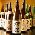 焼酎・日本酒も豊富にご用意しております