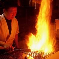 西新で新鮮素材を職人が豪快に焼く炉端焼が絶品!