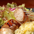 料理メニュー写真松坂豚のソーセージ