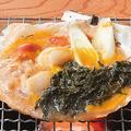 料理メニュー写真[三陸産まつも] まつも(海藻)の貝焼き