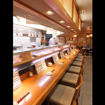 江戸前 びっくり寿司 自由が丘1号店の雰囲気1