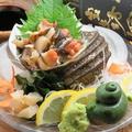 料理メニュー写真三崎産サザエ刺大