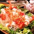 料理メニュー写真タイ風 海老と春雨のサラダ