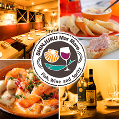 地中海バール SHINJUKU Mar Mare マルマーレ 新宿の写真