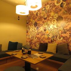 完全プライベートなカラオケ付個室は隠れ家のような雰囲気です☆ご希望の方はお問合せください。