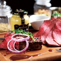 Beef & Beef Plateローストビーフ&厳選牛のグリルステーキ(3~4人前)